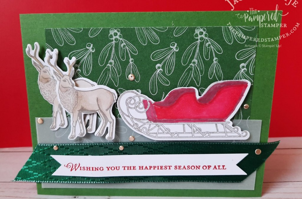 Reindeer and Sleigh from Wishes & Wonder