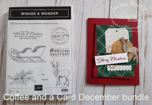 Coffee and a Card to go for December