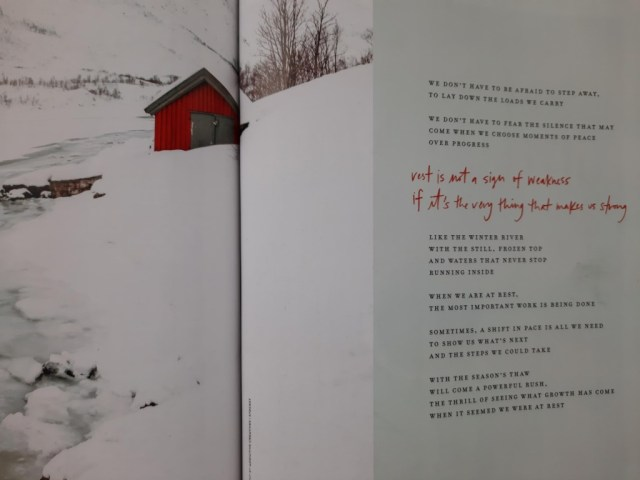 Rest poem