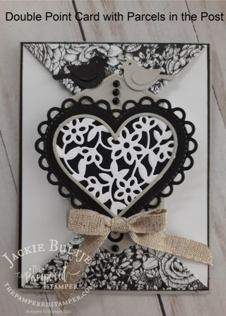 True Love Double Point Card