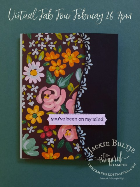 Flower and Field card three