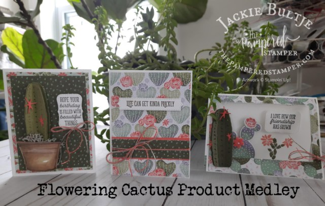 Flowering Cactus Small Memories and More Cards
