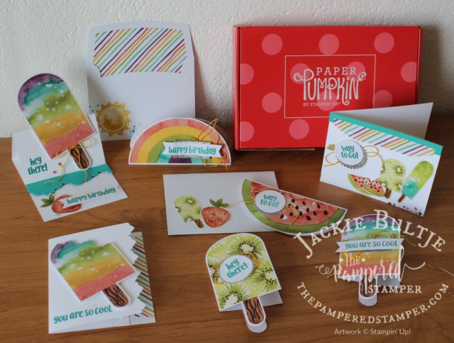 So Cool Paper Pumpkin kit