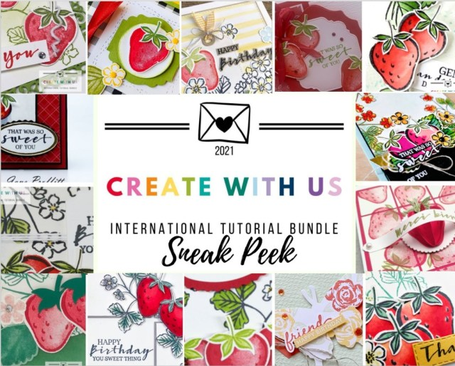Create With Us International Tutorial Bundle Sneak Peek