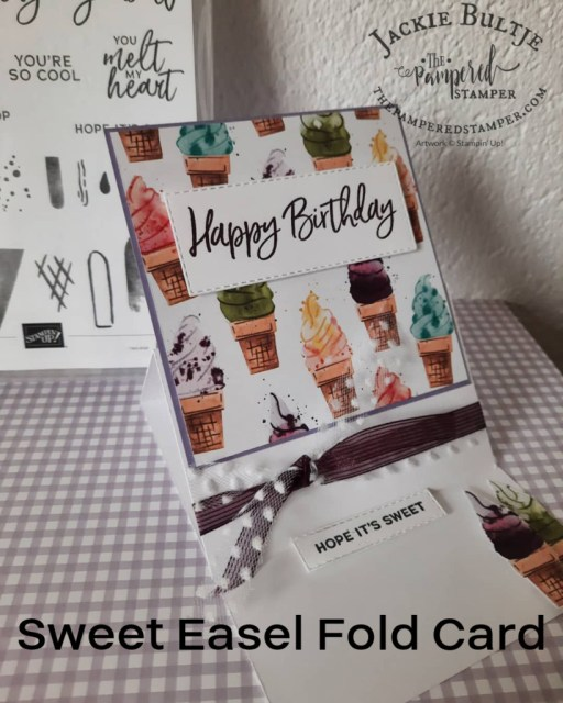 Easel-Fold Card