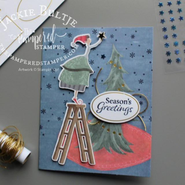 Christmas Whimsy Kit card sample.