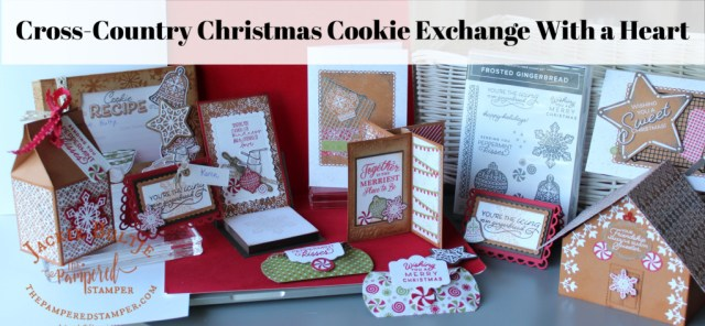 Projects for my Cross-Country Christmas Cookie Exchange Party