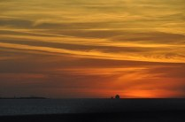 We were going across the Sunshine Skyway bridge at sunset and saw this amazing sky.