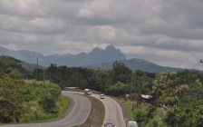 Then we head down the highway and through the beautiful green Panama countryside.