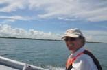 Joel looking good on the boat :)