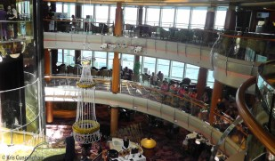 The main atrium area was pretty, and often had something interesting going on.