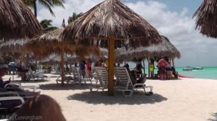 We made it to the beach spot! (the Holiday Inn beach)