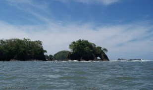 Interesting rock arch on the end of this island