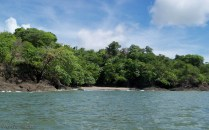 We also saw a number of these little sandy beaches. It would be fun to go for a swim and then explore the island a bit.