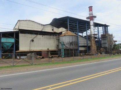 A palm oil processing plant
