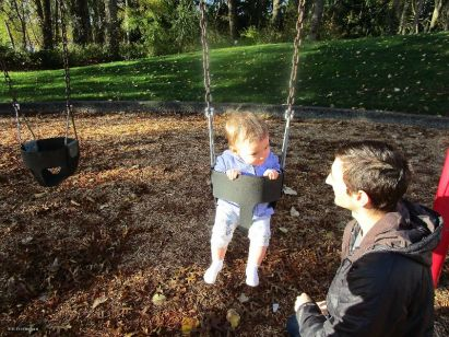 Swings are very fun