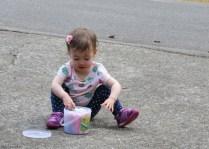 Yeah, sidewalk chalk!