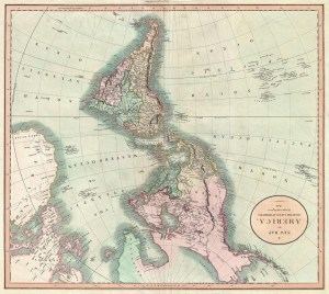 John Cary, Map of the Western Hemisphere ( North America and South America ) - Geographicus - America. London: 1806.