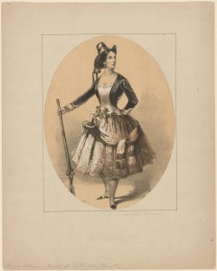 Caroline Rousset, ca. 1851. Courtesy of the New York Public Library Digital Collections.