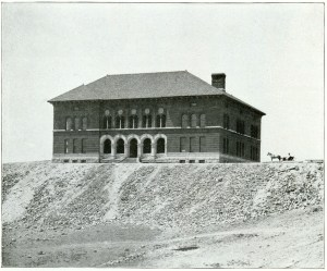 Montana School of Mines, 1900. Source: Harry C. Freeman, via Wikimedia Commons