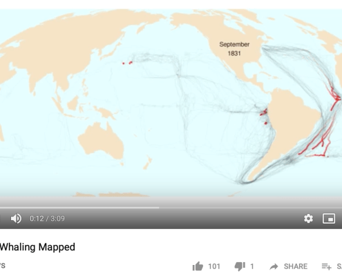 Mapping a Whaling Voyage