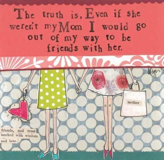 Mom card - older copy