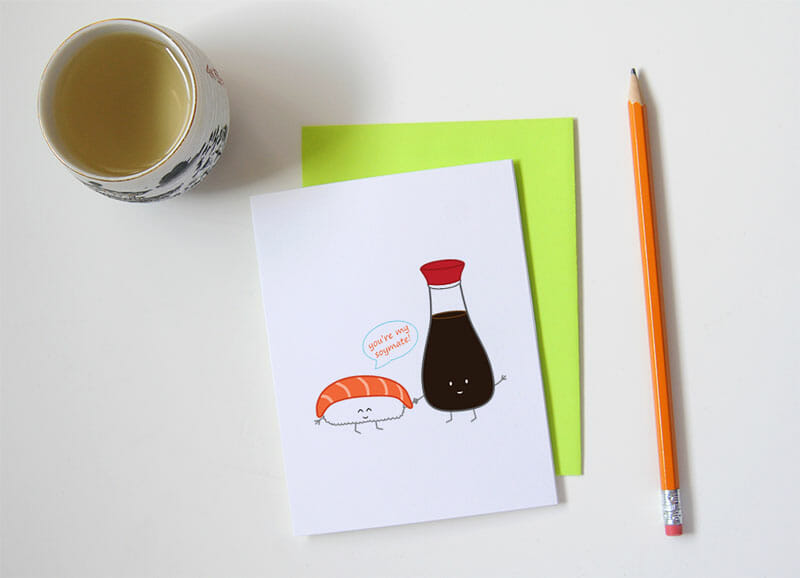 queeniescards_photo_greeting-card_sushi-soymate_product_2