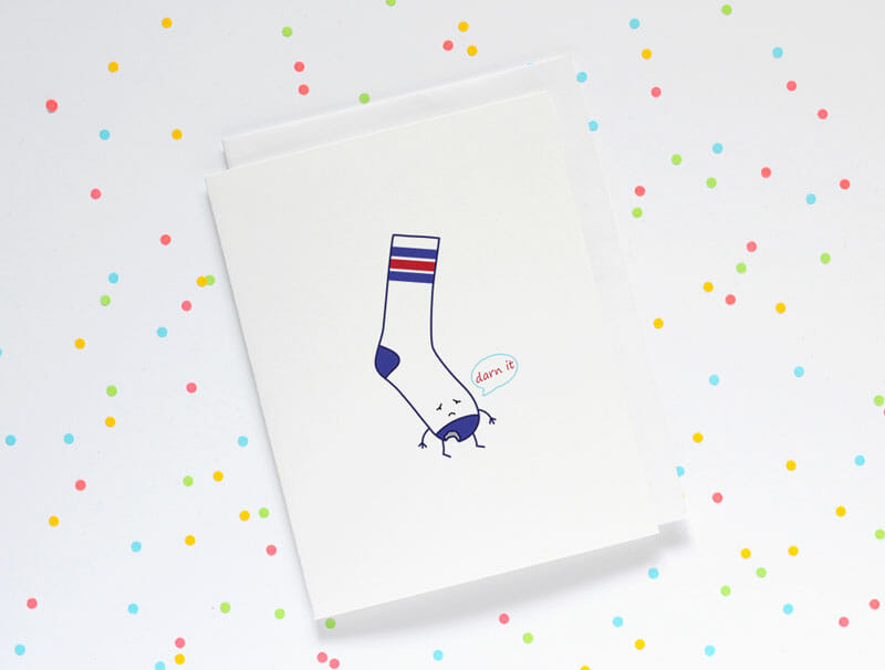 queeniescards_photo_greeting-cards_socks-darn-it_product_1