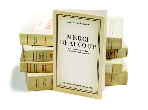 french literature merci bequcoup
