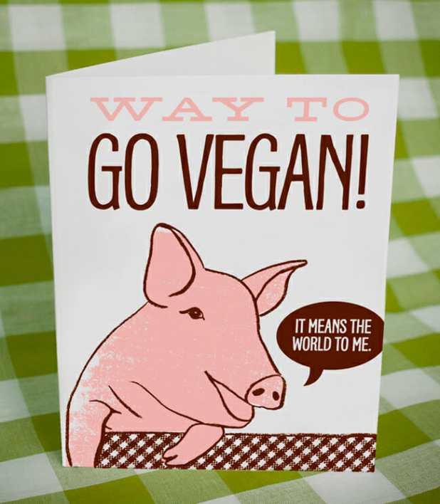 TTP way to go vegan