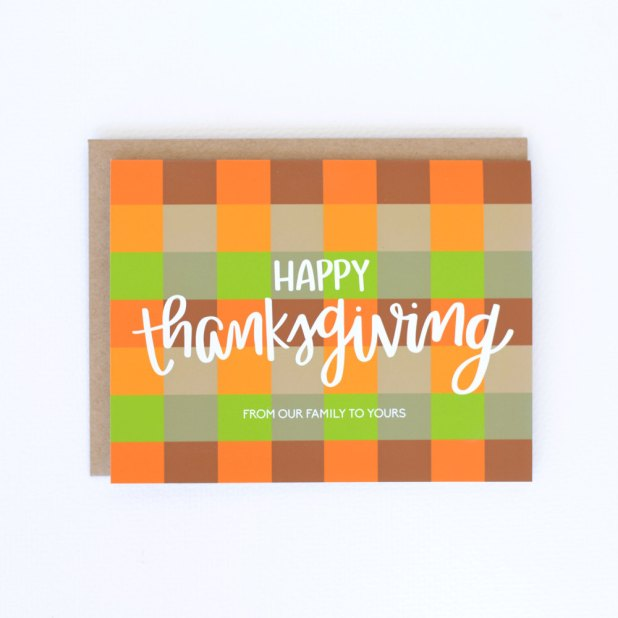 Thanksgiving - Card 2