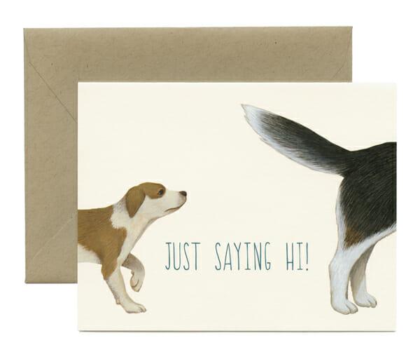 YP Dogs Saying Hi