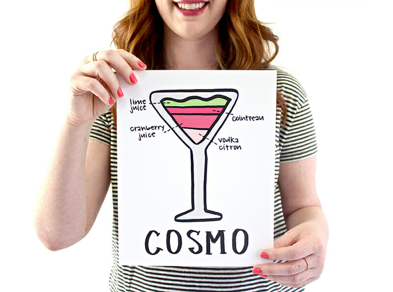 Fresh Out of Ink - Cosmo Art Print - 72dpi 800px