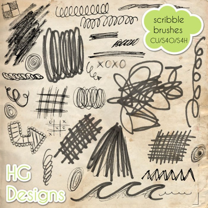Doodle_Scribble_Brushes_by_cesstrelle