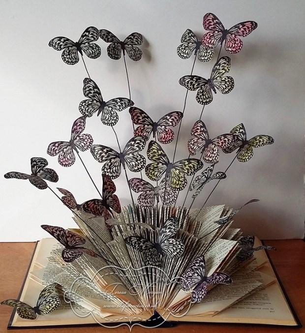 Butterfly Book Folding