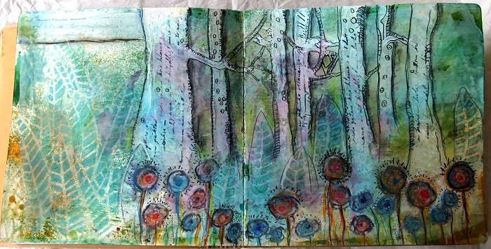 Art Journal-side - Susan Janicula, Danmark