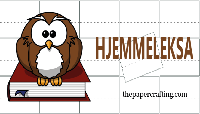 HJEMMELEKSA UKE 38