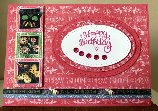 Graphic 45 Flutter Collection Card | the paper crafting librarian