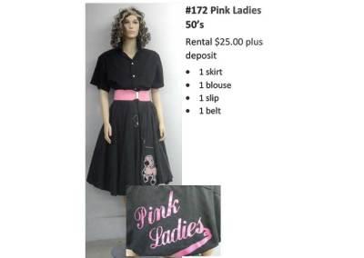 172 Pink Ladies 50's