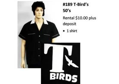189 T-Bird's 50's