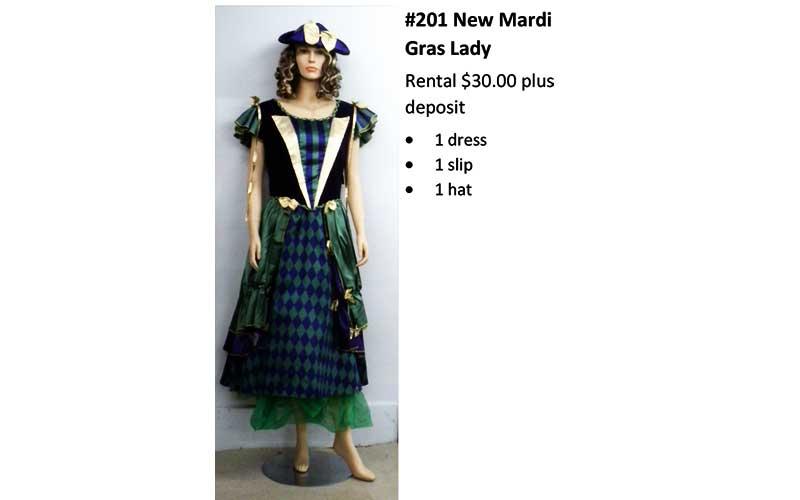 201 New Mardi Gras Lady