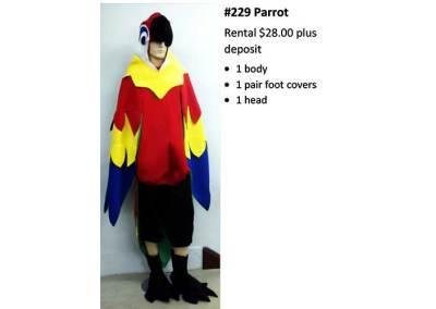 229 Parrot