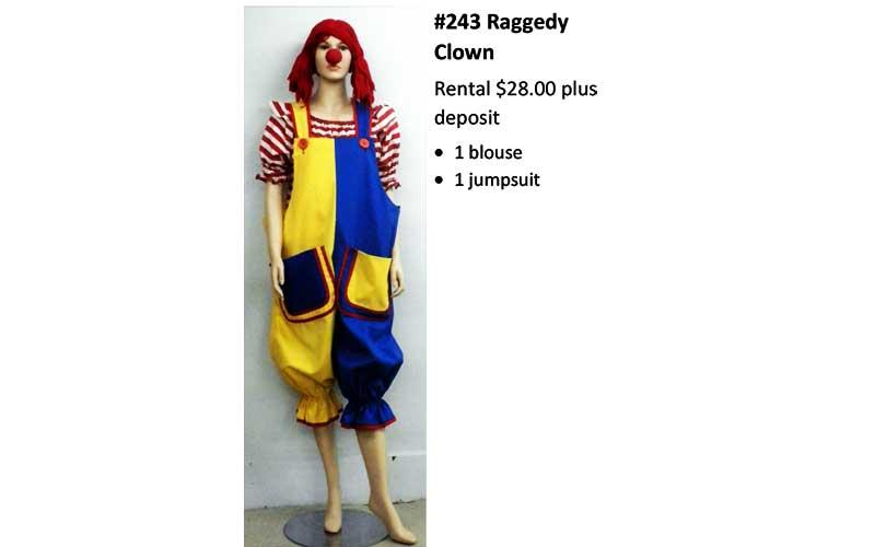 243 Raggedy Clown