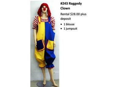 243 Raggedy Clown