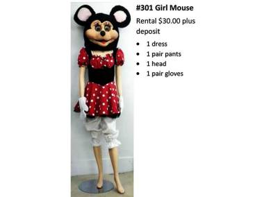 301 Girl Mouse