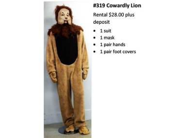 319 Cowardly Lion