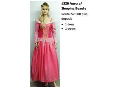 326 Aurora – Sleeping Beauty