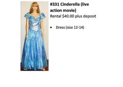 331 Cinderella (live action Movie)