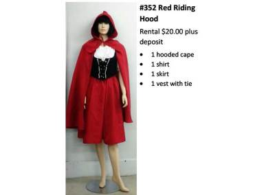 352 Red Riding Hood