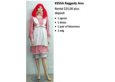355A Raggedy Ann